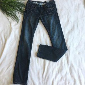 Converse dark wash pembrook skinny jeans